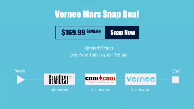Vernee Mars primeste un pret special, putin peste 700 lei printr-o campanie!