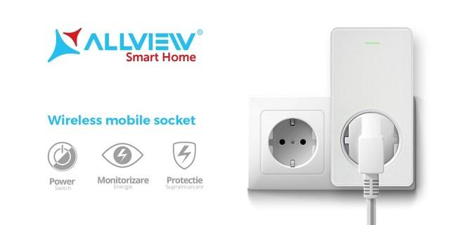 Compania Allview lanseaza astazi prizele inteligente wireless