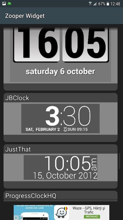 Zooper Widget, aplicatie utila si completa pentru Android