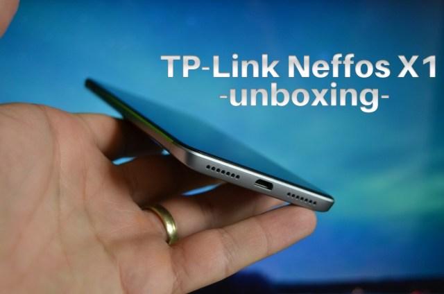 "Unboxing TP-Link Neffos X1, Helio P10 si display de 5"""