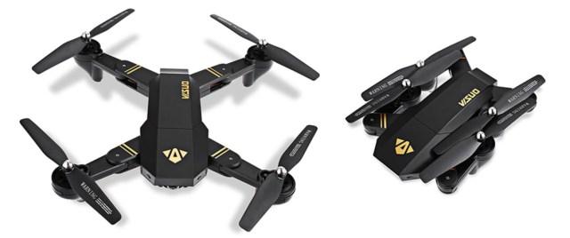 tianqu xs809w, o drona ieftina si controlabila cu telefonul android