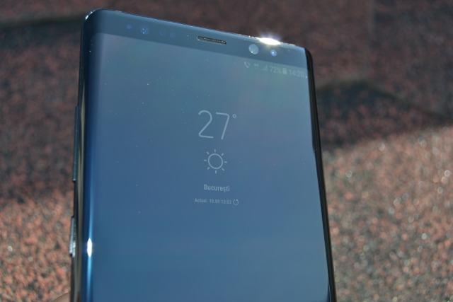 Review (1) Samsung Galaxy Note 8 review (1) samsung galaxy note 8, totul despre ecran