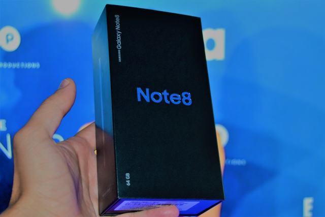 Samsung Galaxy Note 8, unboxing in limba romana samsung galaxy note 8, unboxing in limba romana si primele pareri