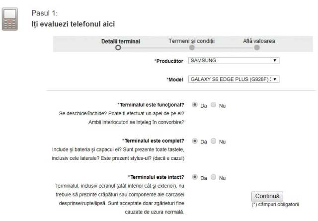 Vodafone Buy Back buy back telefoane