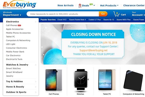 se inchide un mare magazin online din china!