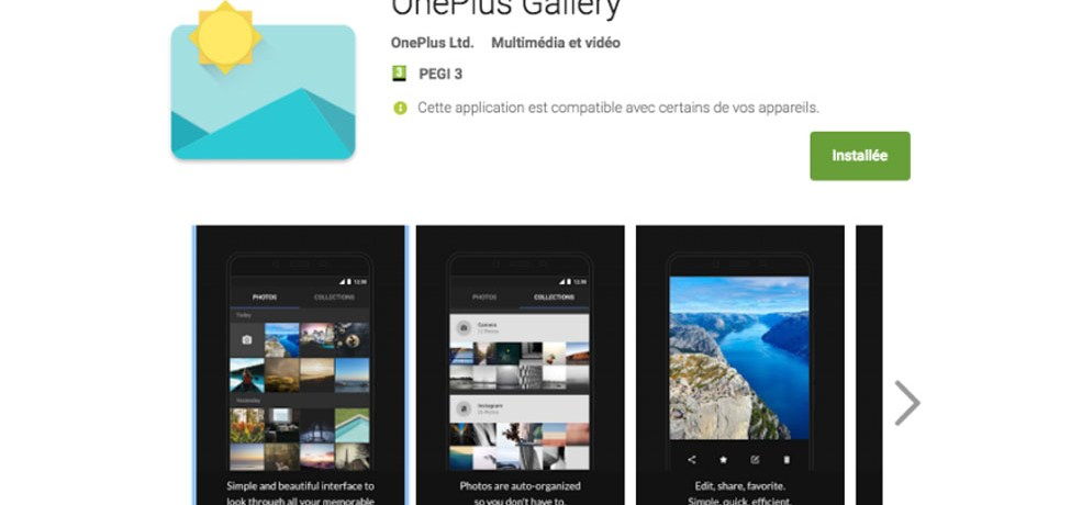 OnePlus Gallery App
