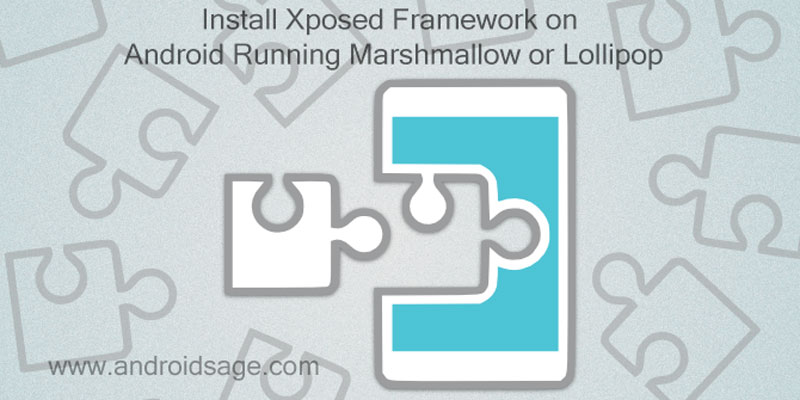 Install Xposed Framework on Marshmallow