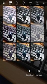 Samsung Galaxy S7 Edge Camera App