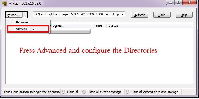 xiaomi note 3 unlock bootloader mi flash tool 2