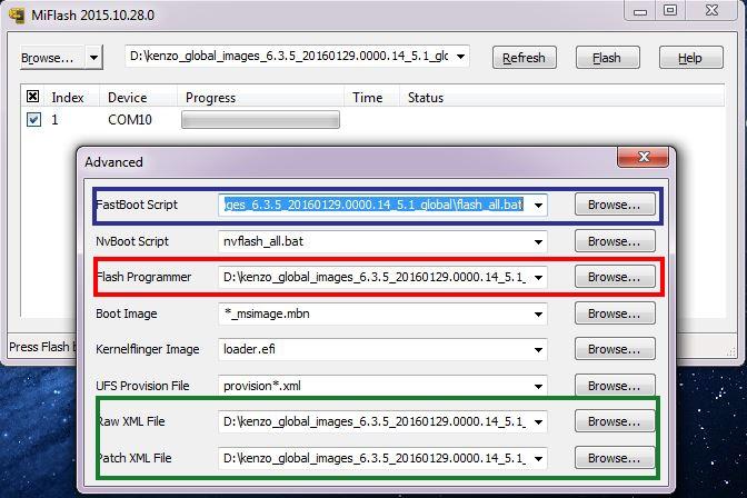 xiaomi note 3 unlock bootloader mi flash tool 3