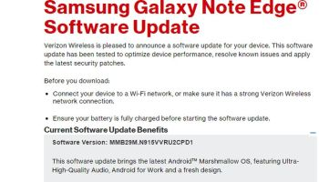 Download Sprint Galaxy Note 4 SM-N910P Android 6 0 1