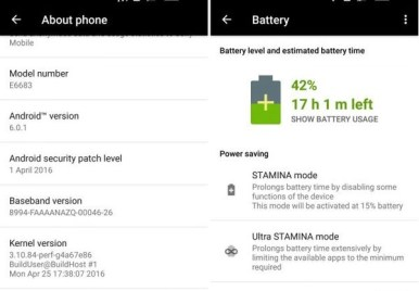 Download Sony Xperia Z5 32.2.A.0.224 Android 6.0.1 Marshmallow Update screenshot