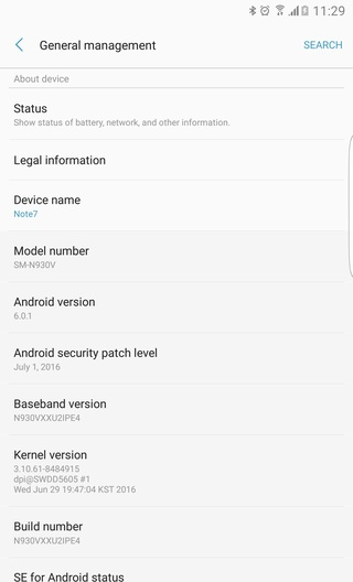 Porting Galaxy Note 7 Apps and ROM For Note 5 and Note 4