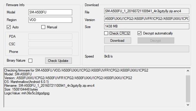 Download A700FDXXU1CPG1 & A500FUXXU1CPG2 for galaxy A7 and A5