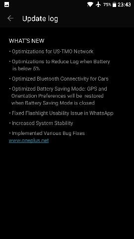 Download OnePlus 3T Oxygen OS 3.5.4 update