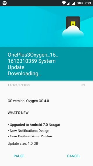 Download Oxygen OS 4.0 for OnePlus 33T OTA and stock firmware