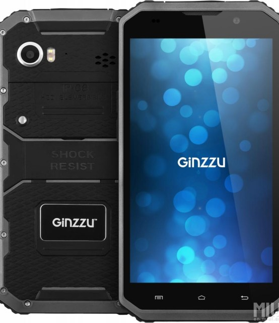 Ginzzu RS97D front look