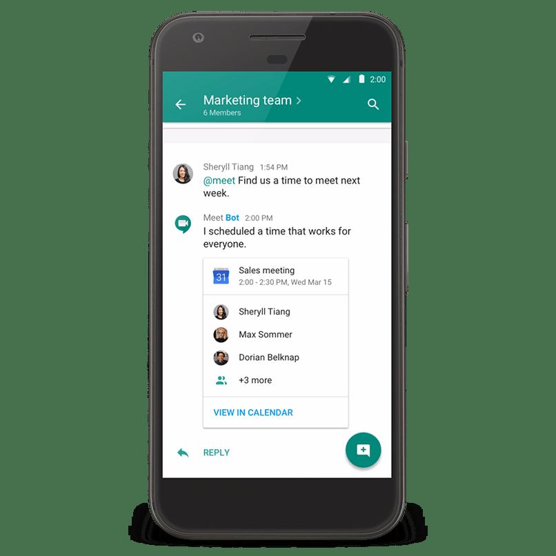 hangouts chat bots
