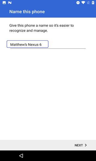 phone name