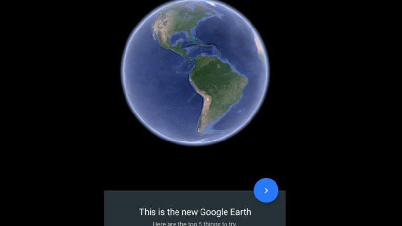 Completely new Google Earth 9.0.3.59 brings 5 new features APK Download