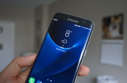 Galaxy s8 westher widget