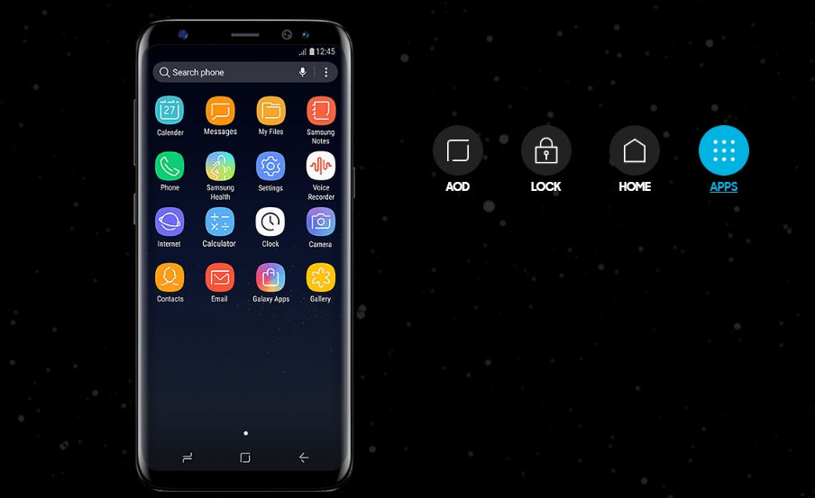 Infinity Display _ Samsung Galaxy S8 and S8+ Apps, UX Port, and wallpapers
