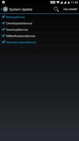 Kill OTA update notification on Android