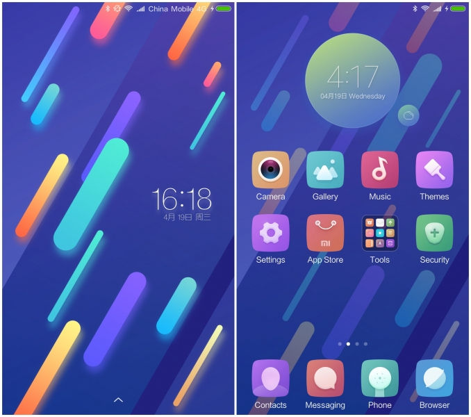 MIUI Mi 6 Official Stock Theme for other Xiaomi devices Download Them Now