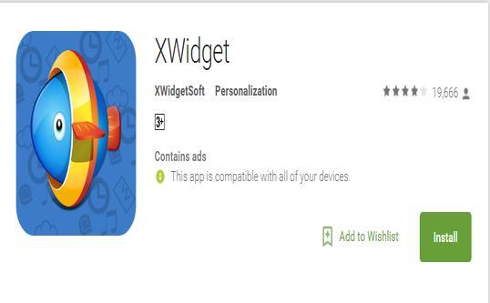 Xwidget app