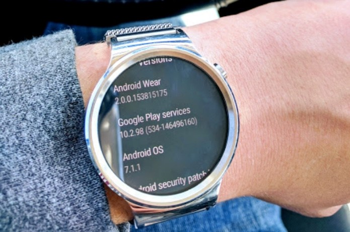 Download and Install Huawei Watch Android Wear 2.0 OTA