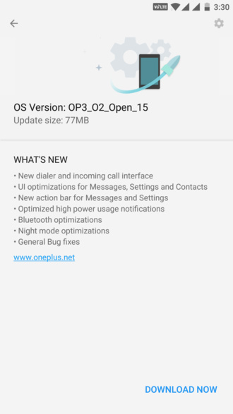Open Beta 15 for OnePlus 3 and Beta 6 for OnePlus 3T