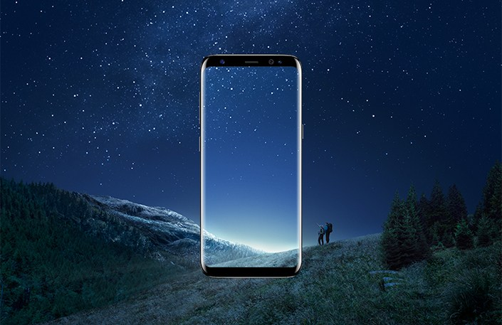 Samsung galaxy s8 infinity display and wallpapers