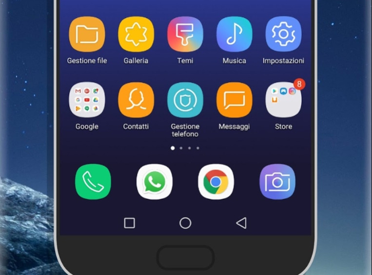how to install Samsung galaxy s8 Plus infinity display theme for Huawei on EMUI