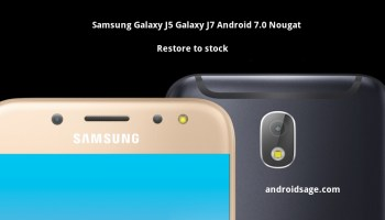 Restore To Stock Samsung Galaxy J7 2016 Android 601 Marshmallow