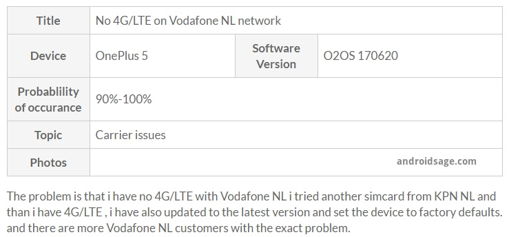 No 4G_LTE on Vodafone NL network - OnePlus Forums