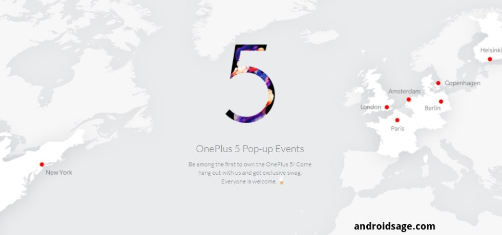 OnePlus 5 Launch Events OnePlus United States Google Chrome 2017 06 20 16.50.17