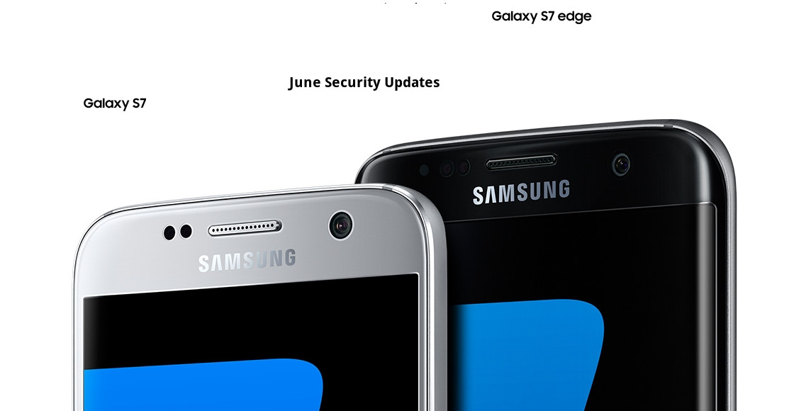 Samsung Galaxy S7 and S7 edge june 2017 security patch updates Android 7.0 Nougat
