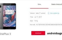 Download hydrogen OS H2OS Open Beta 17 for OnePlus 3