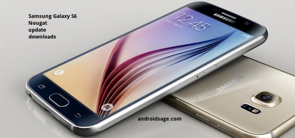 How to download and install Verizon Galaxy S6 (Edge) (Plus) Android 7.0 Nougat firmware update