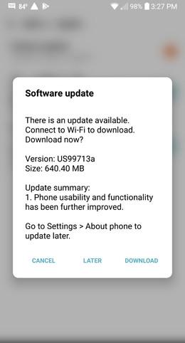 LG G6 June Security Update
