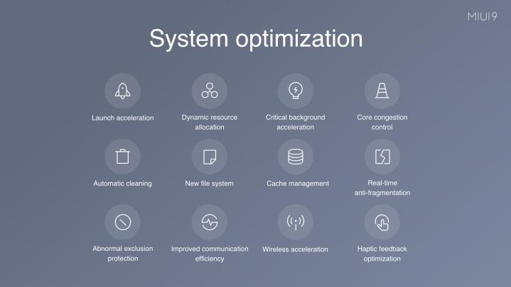MIUI 9 features 2