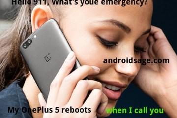 OnePlus 5 OxygenOS 4.5.6 911 rebooting issue HotFix