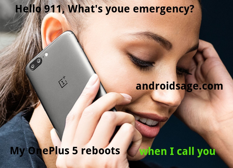 OnePlus 5 OxygenOS 4.5.6 911 rebooting issue HotFix