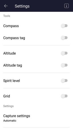 Settings Layout