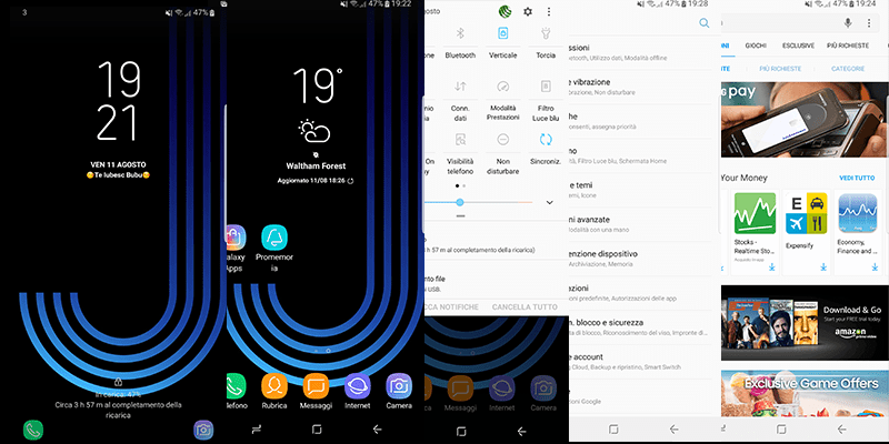 Android 7.1.1 Nougat update for Galaxy S8 (Plus) ROM port