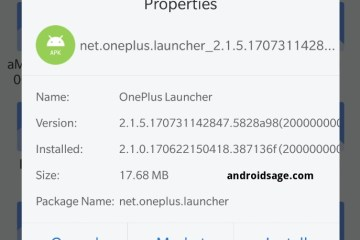 Latest OnePlus Launcher 2.1.5, Gallery 1.8.0, File Manager 1.7.1 APK Download from Open Beta 21
