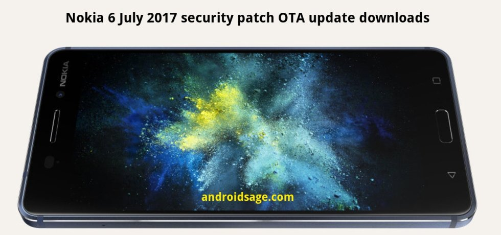 Download & Install Nokia 6 receives July 2017 Security Patch update [OTA]