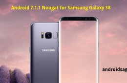 amsung Galaxy S8 and S8+ Android 7.1.1 Nougat ROM port