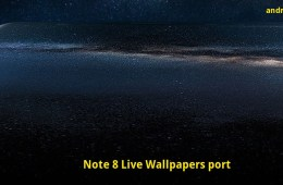 Install Samsung Galaxy Note 8 Live Wallpapers and ringtones