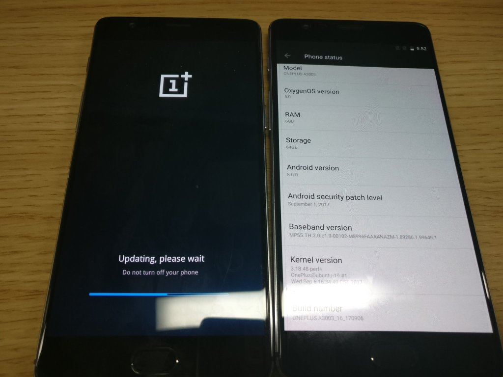 OnePlus 3-3T Android 8.0 Oreo Oxygen OS closed beta screenshot1